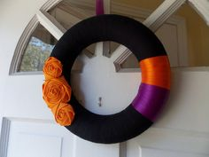 Halloween Wreath by Belle Rose Designs contemporary holiday outdoor decorations