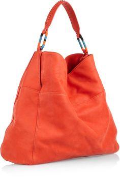 Vanessa Bruno leather hobo bag