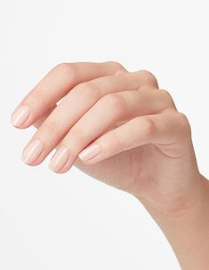 This sheer, rosy light beige long-wear nail polish is the smart choice. Opi Nails, Manicure, Beige Nails, Opi Colors, Red Apple, Light Beige, Nail Inspo, Never Give Up, Nail Polish