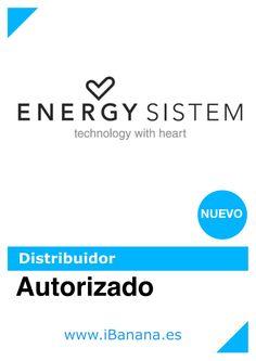 NOTICIA iBanana ya es DISTRIBUIDOR AUTORIZADO de Energy Sistem En breve subiremos imágenes de nuevos productos