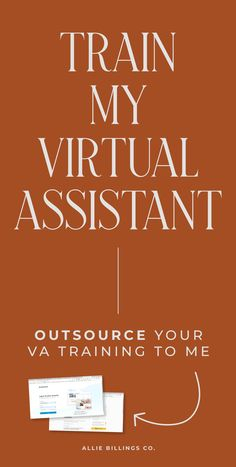 Hired a virtual assistant but simply don't have the time to teach them all the different platforms you use in your business?You're a busy lady. Let me help.Here's the situation:I'm a leading tech   design expert who has been at this for 5  years and LOVES to mentor new virtual assistants.