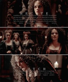 Penny Dreadful: Hecate Poole. Witch.