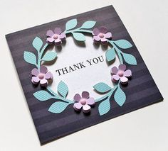Thank you so much for your continued support, I am still receiving such lovely messages letting me know that you are thinking of me and I appreciate every single one of you who has ta… Flower Cards, Paper Flowers, Free Wedding Cards, Free Thank You Cards, Window Cards, Square Card, Cricut Cards, Bird Cards, Some Cards