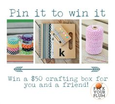 Stock up for Baby – Pin It Quick Giveaway!