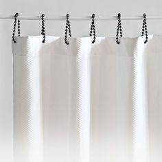Where Can I Find These Black Roller Shower Curtain Rings? — Good Questions | Apartment Therapy