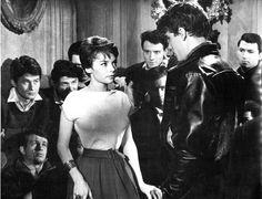 """Pascale Petit in """"Les Tricheurs"""" 1958"""