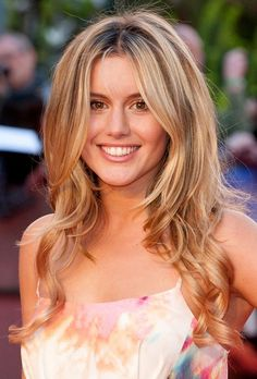 Long Ombre Hair for 2014 - Caggie Dunlop Long Wavy Hairstyle - Hairstyles Weekly