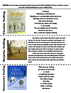 This PDF highlights different types of endings from Mentor text picture books. This PDF is a support to the Writers Workshop and The Units of Teaching Writing 3-5 Personal Narrative Unit. It is meant to print off and the students keep them in their writers notebook to use as a reference when creating their own endings.