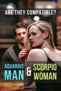 When Scorpio woman is hurt, she can be loud and dramatic.The Aquarius man does not know what to do when the Scorpio woman is upset and having an emotional breakdown. One of the most prominent Aquarius man traits is that he tends to try to explain her emotions from the perspective of logic and reason. Sometimes that's not possible. When this happens, he retreats, which just makes the Scorpio feel unheard on top of upset. #synastry #astrology Aquarius And Scorpio, Scorpio Men, Relationship Blogs, Relationship Struggles, Love Dating, Dating Advice, Dysfunctional Relationships, Life Partners, Finding Love