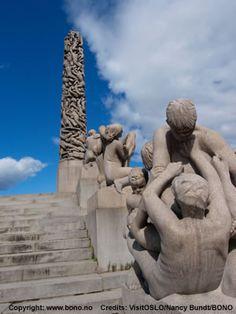 Vigeland Sculpture Park - Norway