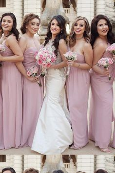 Bridesmaid Dress Backless #BridesmaidDressBackless, Bridesmaid Dress Pink #BridesmaidDressPink, Bridesmaid Dress Cheap #BridesmaidDressCheap, Chiffon Bridesmaid Dress #ChiffonBridesmaidDress Bridesmaid Dresses 2018