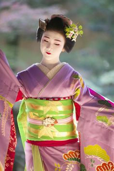 京都の舞妓『小凜』さん写真集~2015年12月01日 - OpenMatome Geisha Japan, Geisha Art, Japanese Geisha, Kyoto Japan, Japanese Beauty, Japanese Kimono, Baroque Architecture, Japanese Characters, Nature Images