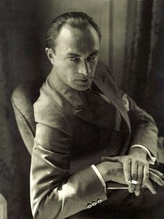 Germany. Actor Conrad Veldt portrait // by Edward Steichen -repinned by Los Angeles studio photographer http://LinneaLenkus.com #photographers
