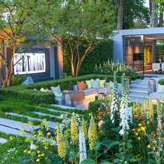 Cottage garden design, Chelsea flower show Chelsea garden, Garden design, Garden landscaping, Chelsea flower show - The RHS Chelsea Flower Show 2018 is officially open and we& handpicked the -