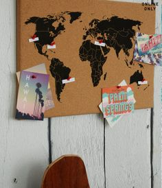 Cork board world map i can stick pins where i have been for the cork board world map i can stick pins where i have been for the home pinterest cork boards stick pins and cork gumiabroncs Gallery