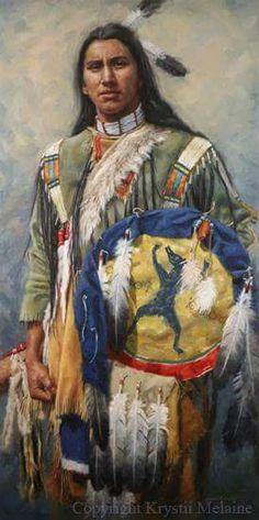 Кристи Мелани. Медвежий Сновидец, лакота