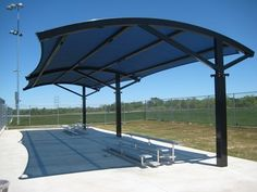 2 Post Eclipse Cantilever Shade Canopy Designs For Shade