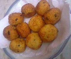 Receita de Bolinho de arroz com farinha de mandioca - Show de Receitas