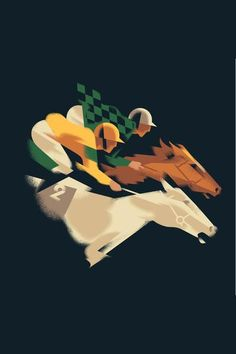 Horse Illustration, Digital Illustration, Kentucky Derby Image, Race Night, Horse Cards, Horse Posters, Sports Graphic Design, Sports Images, Racehorse