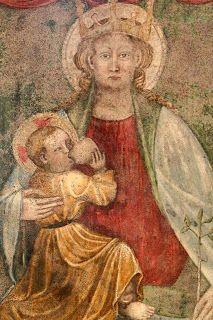 Carmine Superiore, Verbania. Madonna del latte all'interno della chiesa dedicata a San Gottardo I Viaggiatori Ignoranti: La Madonna del Latte