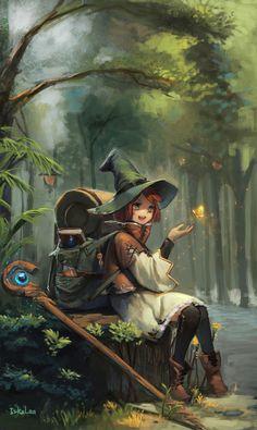 magic school, lee erke on ArtStation at https://www.artstation.com/artwork/mvEwy