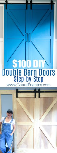 This step by step tutorial will show you how to build a barn door on a budget. You c