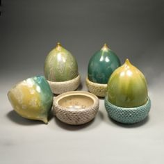 Kate Malone: Limited Edition Acorn Boxes