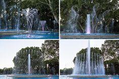 Musical Fountain- Margaret Island, Budapest