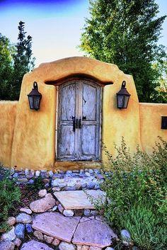 old Santa Fe door