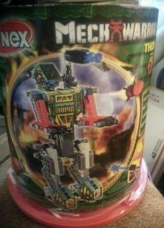 K'nex Mech Warrior THOR Series 2  KNEX NEW FACTORY SEALED #KNEX