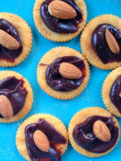Buttery Chocolate Almond Bites - Reluctant Entertainer