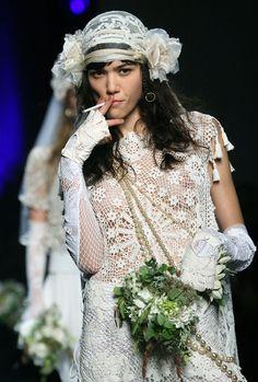 Le défilé Jean Paul Gaultier printemps-été 2008 18   Vogue