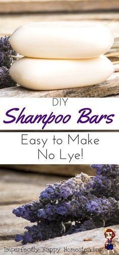 DIY Melt and Pour Shampoo Bars You'll Love Easy to Make DIY Shampoo Bars, no lye to deal with!Easy to Make DIY Shampoo Bars, no lye to deal with! Shampoo Bar Diy, Diy Hair Shampoo, Best Shampoo Bars, Castor Oil Shampoo, Solid Shampoo, Natural Shampoo, Diy Peeling, Wie Macht Man, Lotion Bars