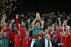 Seleccion espanola de futbol (Campeones del Mundo).