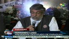 #Lugo continúa luchando para que vuelva la #democracia a #Paraguay