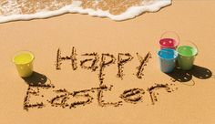 Pic of the Day...Happy Easter! ----------------------------- #beach #easter #sand #water #ocean