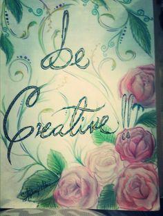 Drawing be creative