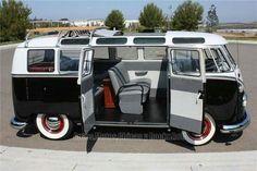 Restored VW Camper Van
