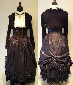 pretty goth dress