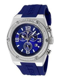 Men's Throttle Alias Blue Watch by Swiss Legend Watches on Gilt.com