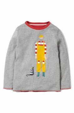 Mini Boden Reversible Graphic T-Shirt (Toddler boys, Little Boys & Big Boys)