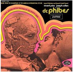 Dr Phibes (Movie Film Cinema Cine Album Cover  / Movie Poster / Moster Movie / Vintage / Retro / Vincent Price / Album Cover )