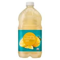 this is the best lemonade!! no artificial color no HFCS Simply Balanced Organic Lemonade 64 oz