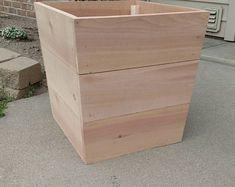 Cedar Planter Box #plantersboxes