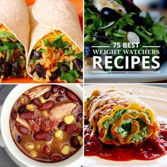 Love Weight Watchers?  You LOVE these 75 Best Weight Watchers Recipes!  #weightwatchers #ww #weightloss #healthyrecipes