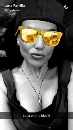 Lana Parrilla on snapchat 29/9/2016