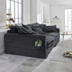 XXL sofa Carcassonne – cozy home comfy Living Room Colors, Living Room Sofa, Home Living Room, Living Room Designs, Living Room Furniture, Home Furniture, Living Room Decor, Cozy Couch, Comfy Sofa