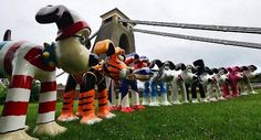 Tagged by James: Bristol's 80 Gromit's #Wallace #Bristol #Aardman #2013 #GromitUnleashed