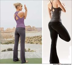 Choose the right yoga pants!