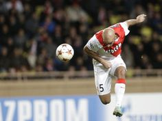 Monaco  Aymen Abdennour scores the opening goal during